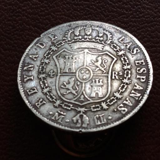 4 REALES DE PLATA DE 1848 - ISABEL II - REINA DE LAS ESPAÑAS  [0]