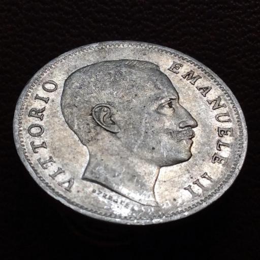 1 LIRA DE PLATA DE 1906 - VITORIO EMANUELE III - REINO DE ITALIA  [0]