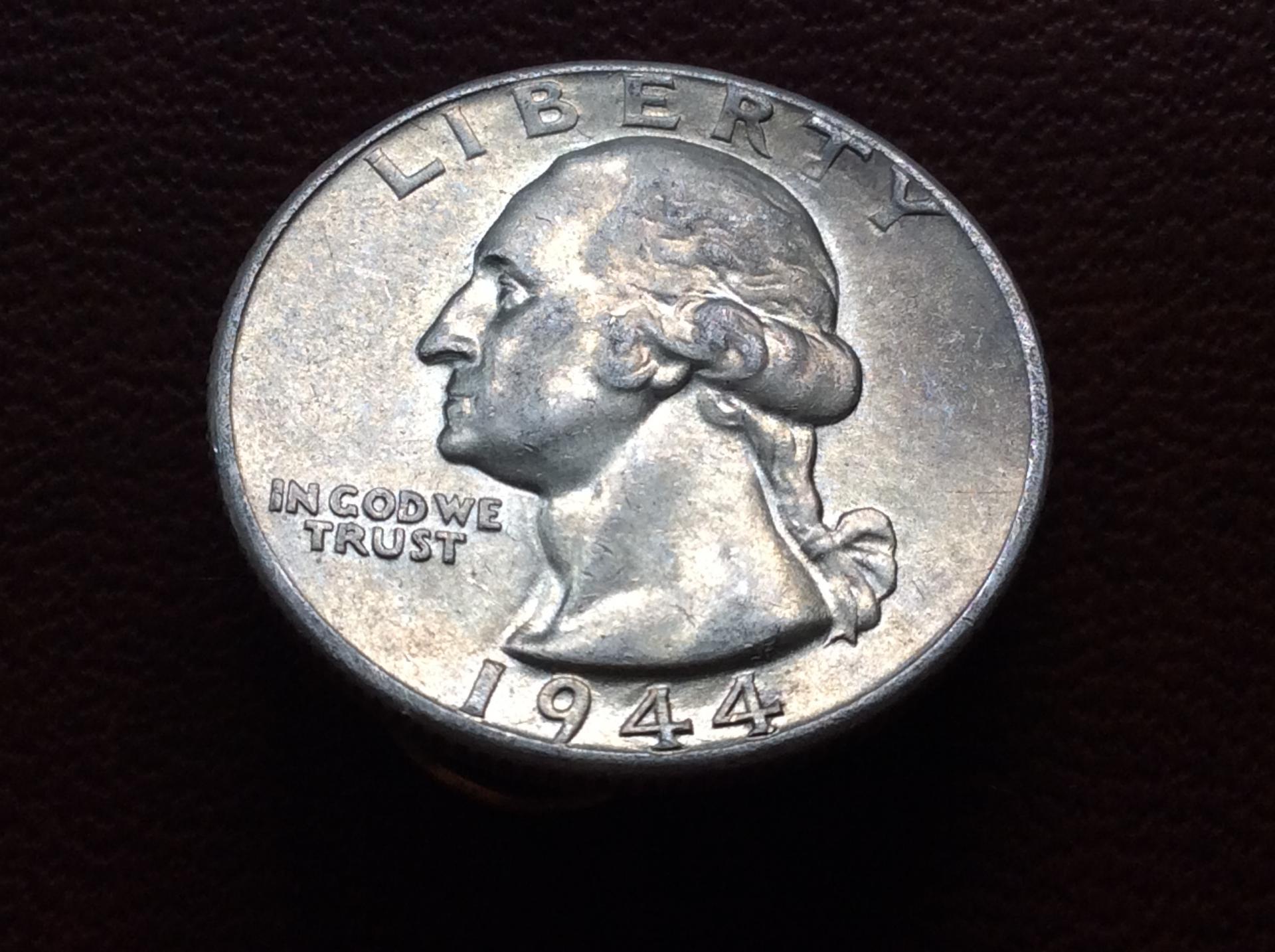 QUARTER DOLLAR DE PLATA DE 1944 - G.WASHINGTON - ESTADOS UNIDOS