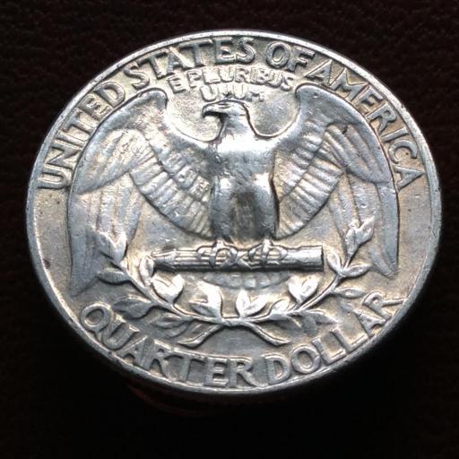 QUARTER DOLLAR DE PLATA DE 1947 - G.WASHINGTON - ESTADOS UNIDOS  [1]