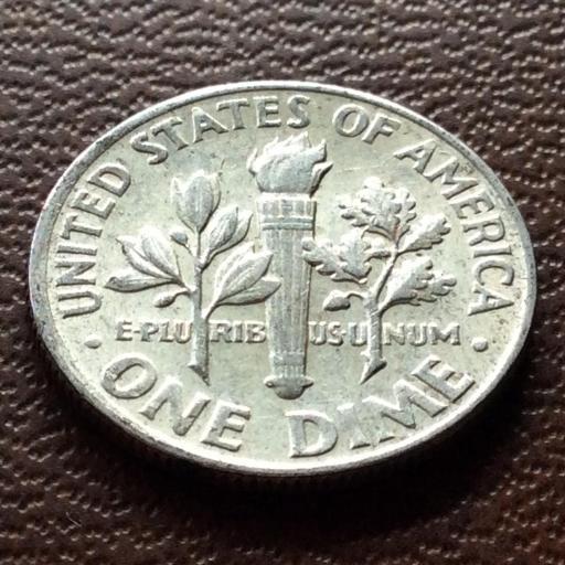 1 DIME DE PLATA DE 1964 - ROOSEVELT - ESTADOS UNIDOS [1]