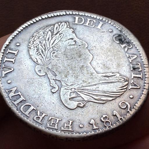 8 REALES PLATA 1819 - FERNANDO VII - CECA DE ZACATECAS - AG