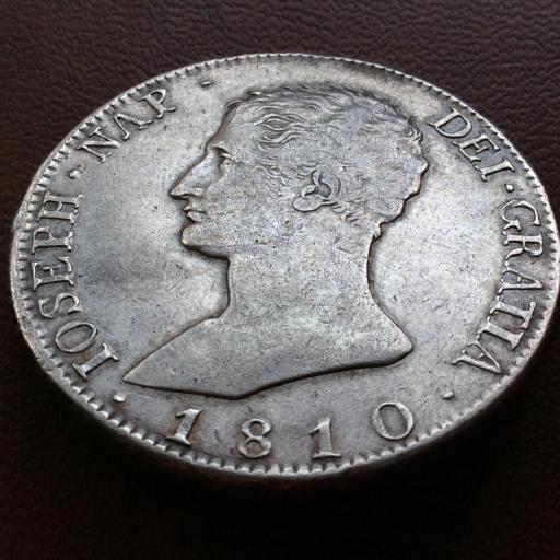 20 REALES PLATA 1810 - JOSÉ I BONAPARTE - OCUPACIÓN NAPOLEONICA - MADRID AI  [3]