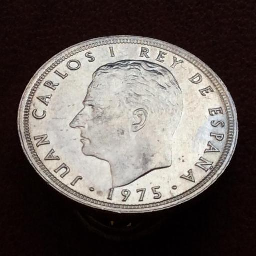 5 PESETAS 1975 *80 - DURO DEL ERROR - MUNDIAL 82 - JUAN CARLOS I - SIN CIRCULAR  [2]