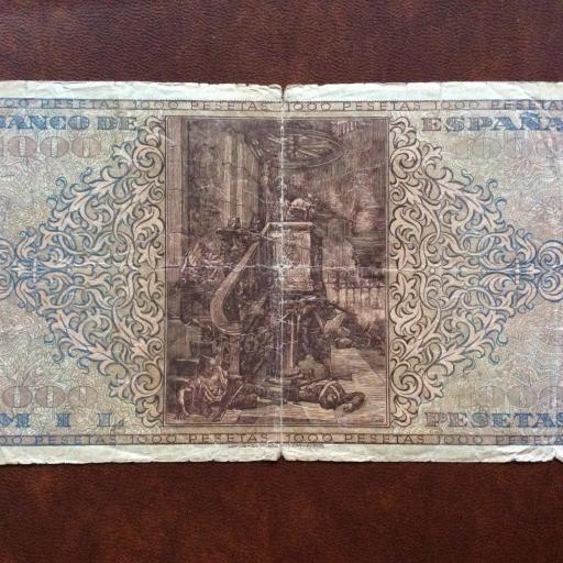 1000 PESETAS 1938 - GUERRA CIVIL ESPAÑOLA - BURGOS [1]