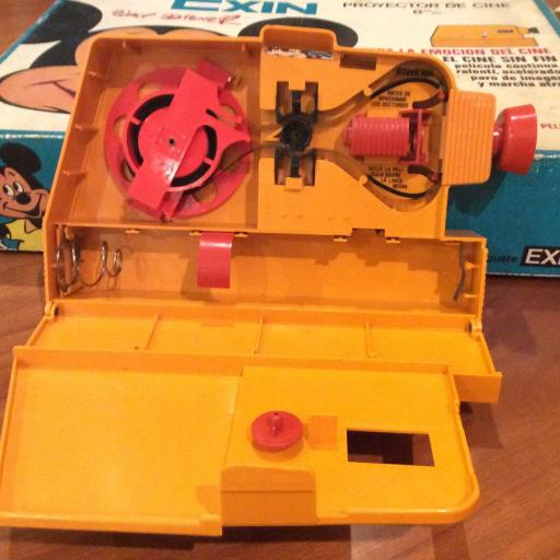 Cinexin años 70 - proyector de 8 mm - con bombilla original [1]