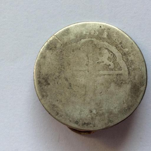 2 REALES DE PLATA DE 1761 - REINADO DE CARLOS III - HISPANIARUM REX