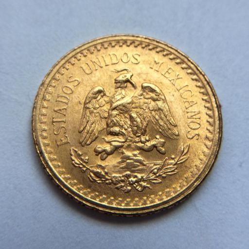 2'5 PESOS DE ORO DE 1945 - MÉXICO - SIN CIRCULAR - NUEVA  [1]