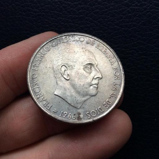 100 PESETAS 1966 *19*69 - PALO CURVO - ESTADO ESPAÑOL - SIN CIRCULAR