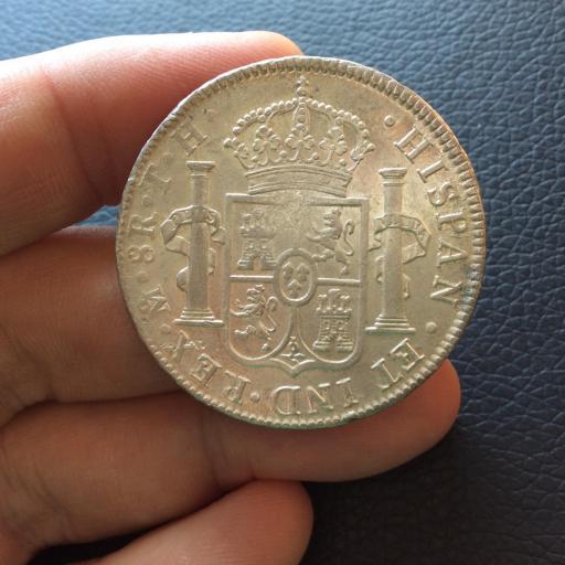 8 REALES 1809 - REY FERNANDO VII - BUSTO IMAGINARIO  - MÉXICO  [3]