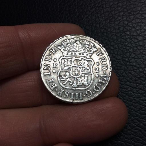 2 REALES COLUMNARIOS 1749 - FERNANDO VI - MÉXICO [1]