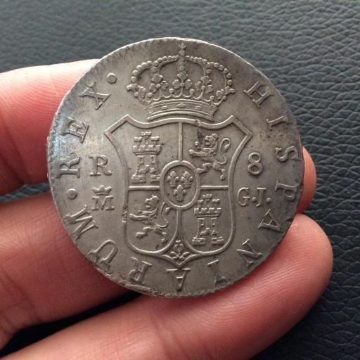 PRECIOSOS 8 REALES 1816 MADRID - FERNANDO VII [1]