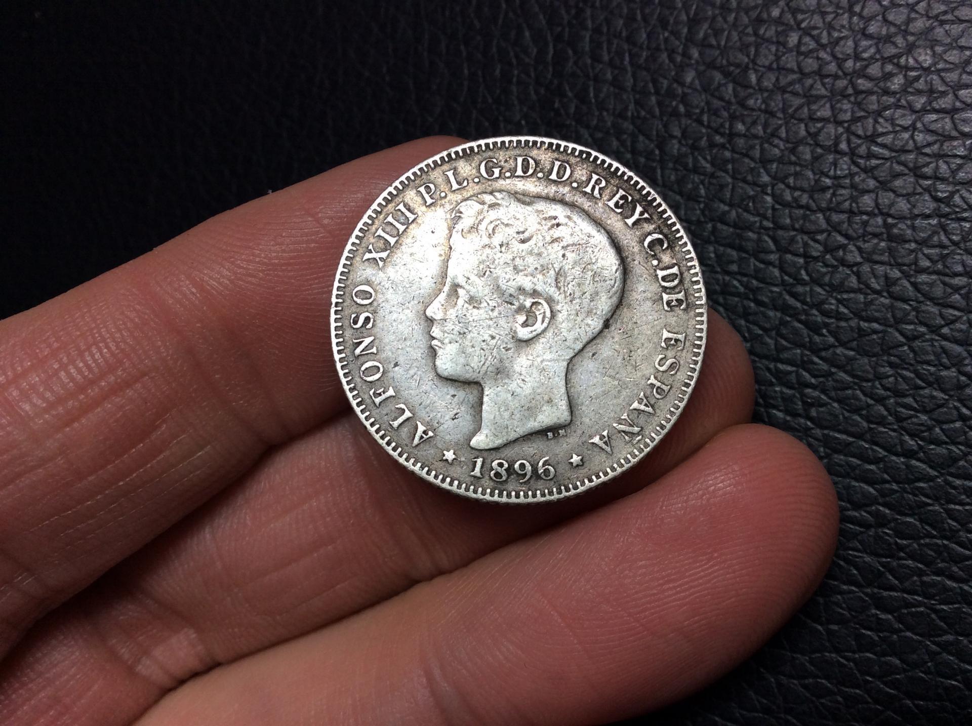 40 CENTAVOS DE PESO 1896 - ISLA DE PUERTO RICO
