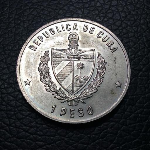 1 PESO 1981 - CUBA - FAUNA CUBANA - COCODRILO