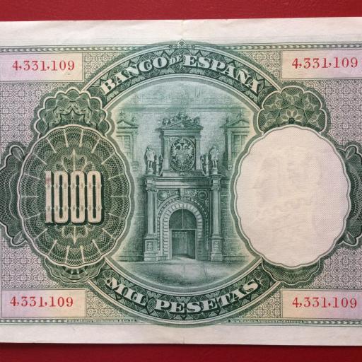 1000 PESETAS 1925 - CARLOS I - EXCELENTE CONSERVACIÓN  [1]