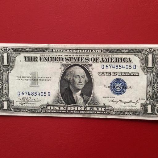 1$ DOLAR 1935 - GEORGE WASHINGTON - ESTADOS UNIDOS