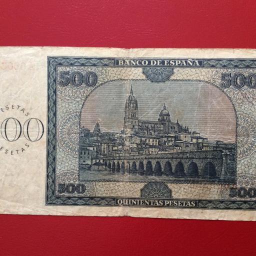 500 PESETAS 1936 - BURGOS - GUERRA CIVIL ESPAÑOLA - ESCASO [1]