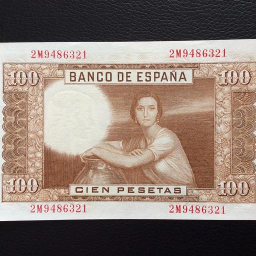 100 PESETAS 1953 - PLANCHA - ROMERO DE TORRES  [1]