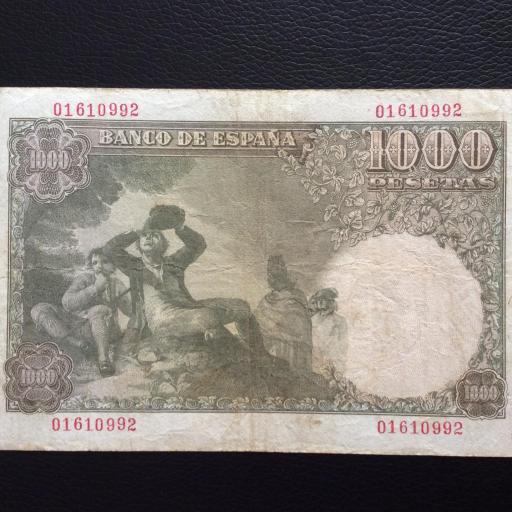 1000 PESETAS 1949 - MARQUÉS DE SANTILLAN  [1]