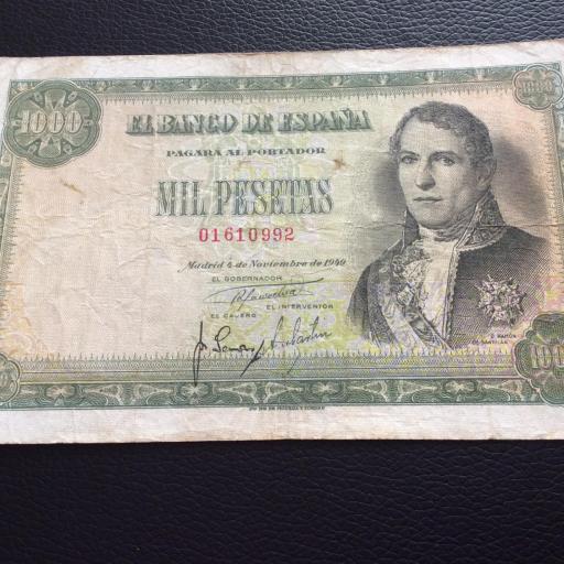1000 PESETAS 1949 - MARQUÉS DE SANTILLAN  [2]