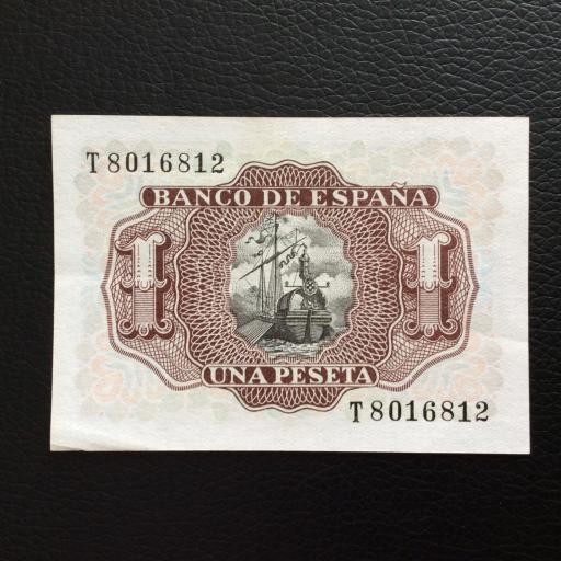 1 PESETA 1953 - MARQUÉS DE SANTA CRUZ - PLANCHA SIN CIRCULAR  [1]