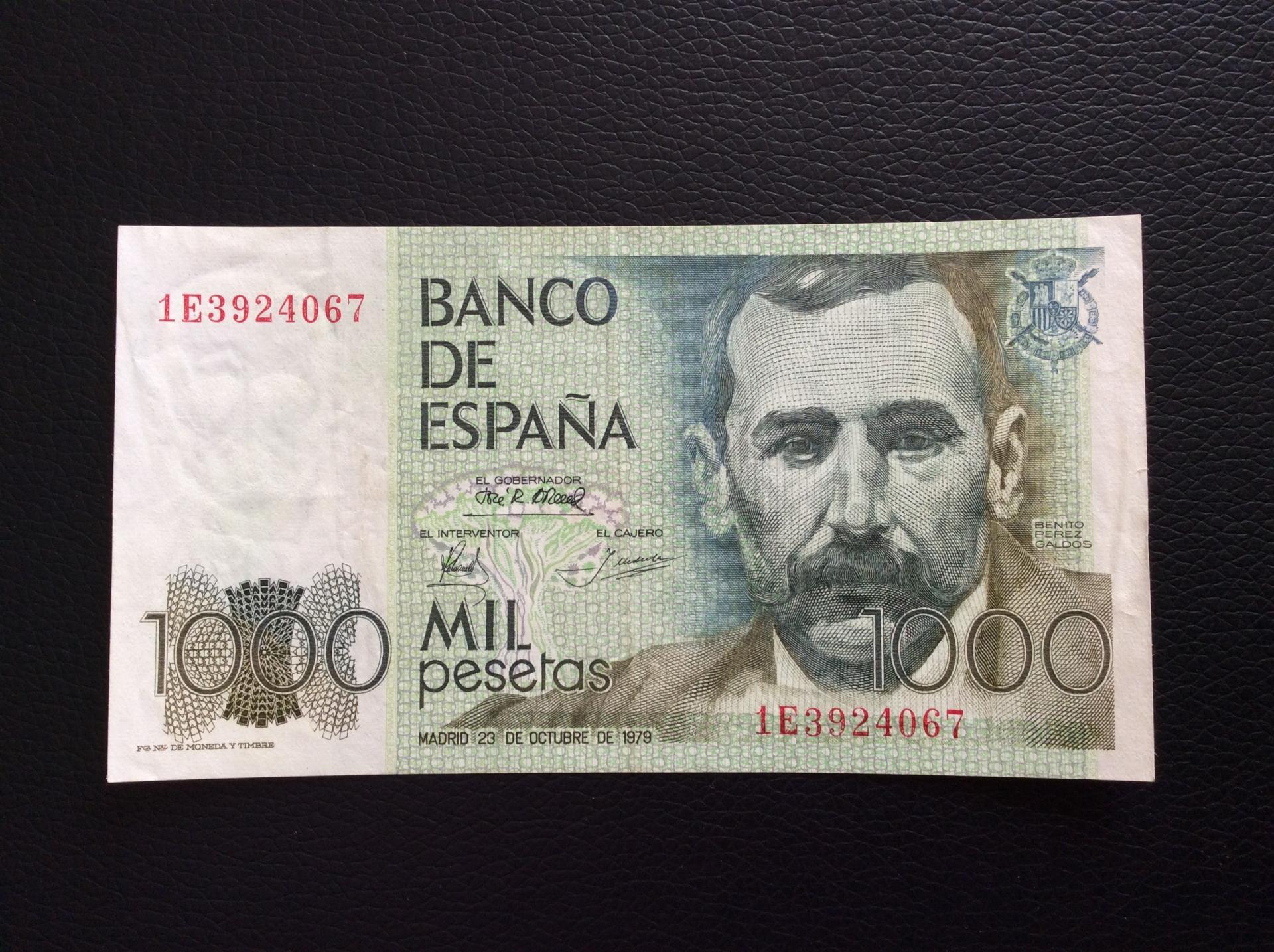 1000 PESETAS 1979 - PÉREZ GALDÓS - EBC+