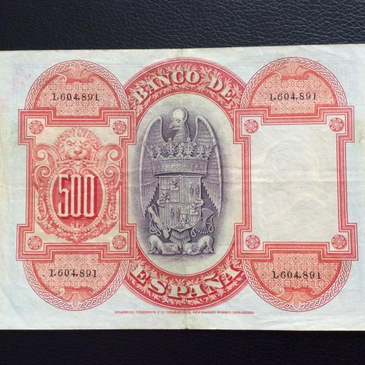 500 PESETAS 1927 - ISABEL LA CATÓLICA  [1]