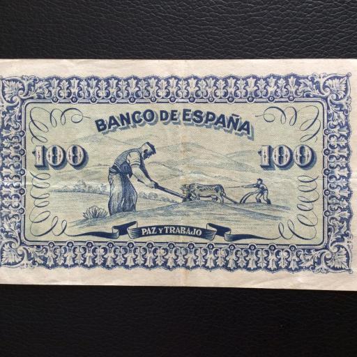 100 PESETAS 1937 - BANCO DE ESPAÑA GIJÓN  [1]