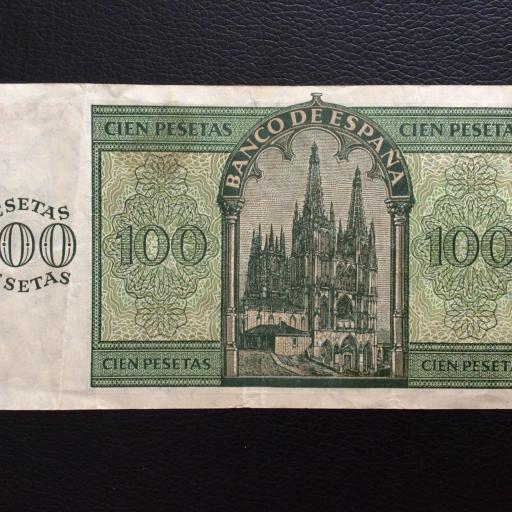 100 PESETAS 1936 - GUERRA CIVIL ESPAÑOLA - BURGOS  [1]