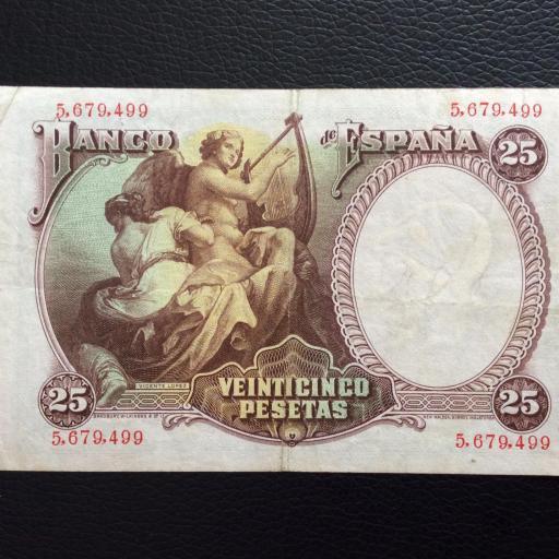 25 PESETAS 1931 - VICENTE LÓPEZ  [1]