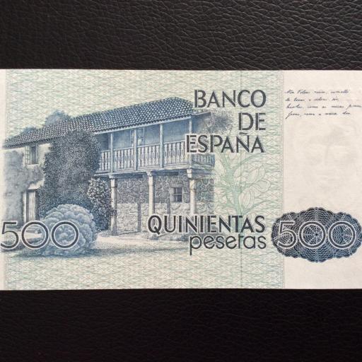 500 PESETAS 1979 - ROSALÍA DE CASTRO - PLANCHA [1]
