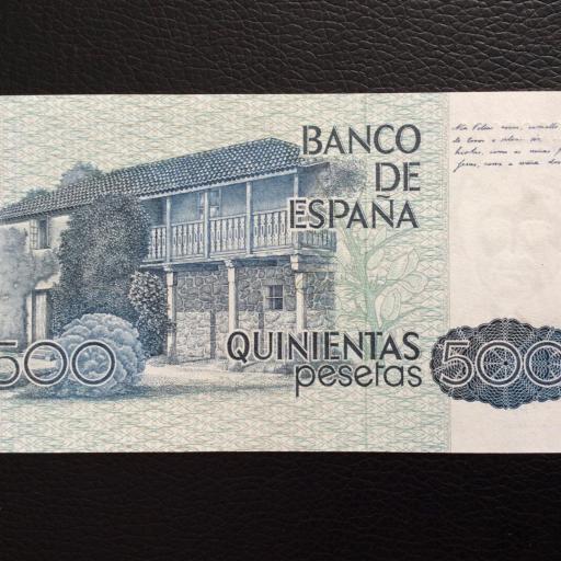 500 PESETAS 1979 - ROSALIA DE CASTRO - PLANCHA [1]