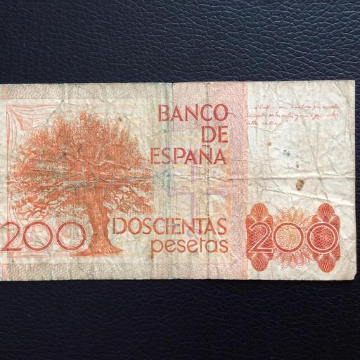 200 PESETAS 1980 - SERIE DE SUSTITUCIÓN 9A [1]