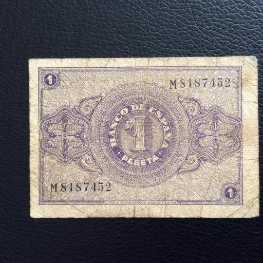 1 PESETA ABRIL 1938 - BURGOS - GUERRA CIVIL ESPAÑOLA  [1]