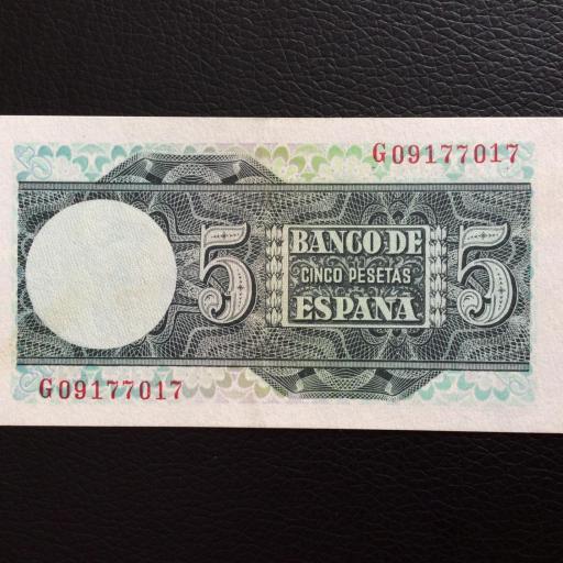 5 PESETAS 1948 - ELCANO - PLANCHA  [1]