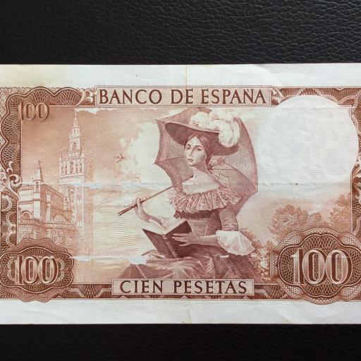 100 PESETAS 1965 -  QUEVEDO  [1]