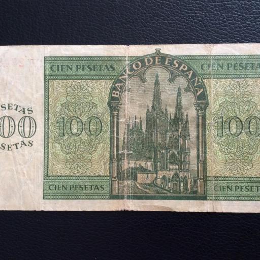 100 PESETAS 1936 - BURGOS - GUERRA CIVIL ESPAÑOLA  [1]