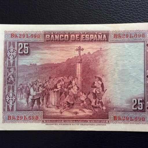 25 PESETAS 1925 - CALDERÓN DE LA BARCA - EBC + [1]