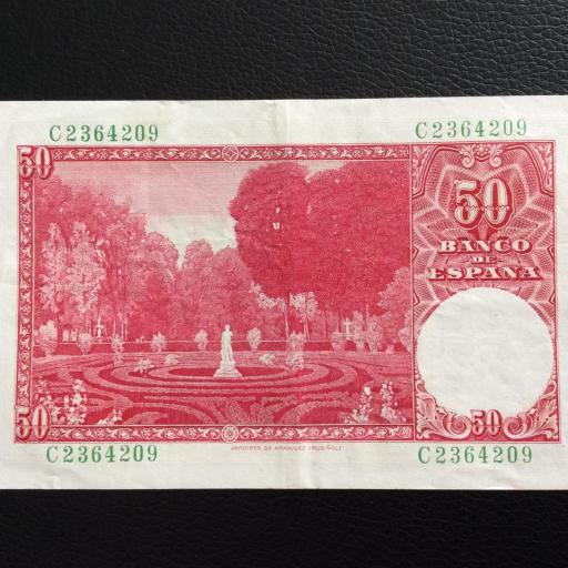 50 PESETAS 1951 - SANTIAGO RUSIÑOL  [1]