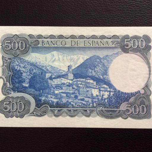 500 PESETAS 1971 - JACINTO VERDAGUER - PLANCHA  [1]