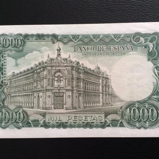 1000 PESETAS 1971 - JOSÉ ECHEGARAY - PLANCHA [1]