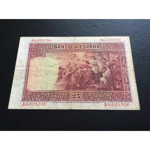 25 PESETAS 1926 - SAN JAVIER - SERIE A [1]