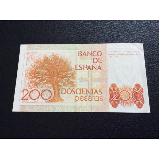 200 PESETAS 1980 - CLARÍN - SIN SERIE - EBC+ [1]