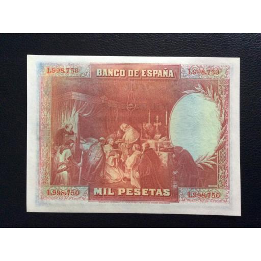 1000 PESETAS 1928 - SAN FERNANDO - PLANCHA SIN CIRCULAR [1]