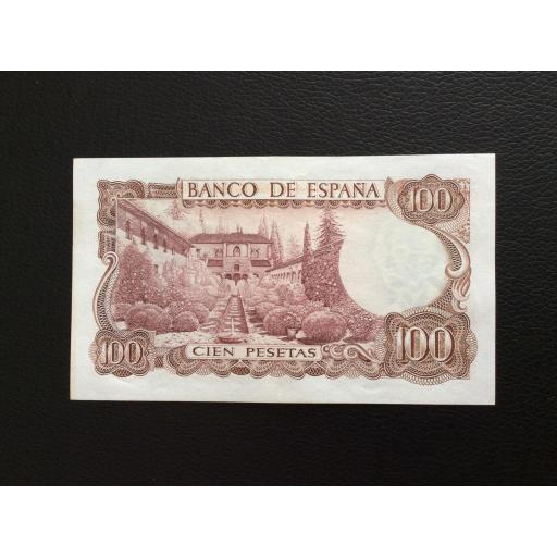 100 PESETAS 1970 -SERIE DE SUSTITUCIÓN 9B - MANUEL DE FALLA - PLANCHA [1]
