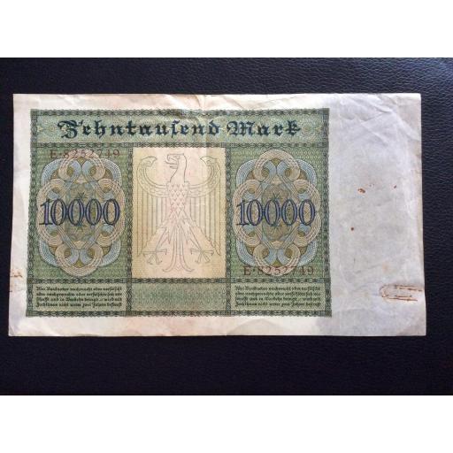 10.000 MARK 1922 - BERLÍN ALEMANIA - REICHSBANKNOTE [1]