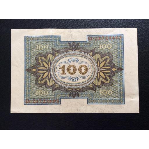 100 MARK 1920 - BERLÍN ALEMANIA - REICHSBANKNOTE [1]