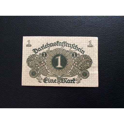 1 MARK 1920 - BERLÍN ALEMANIA - REICHSBANKNOTE  [1]