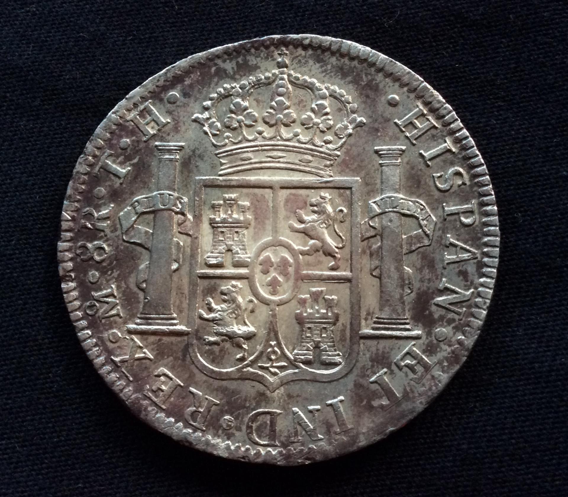 8 REALES PLATA 1805 - CARLOS IV - MEXICO