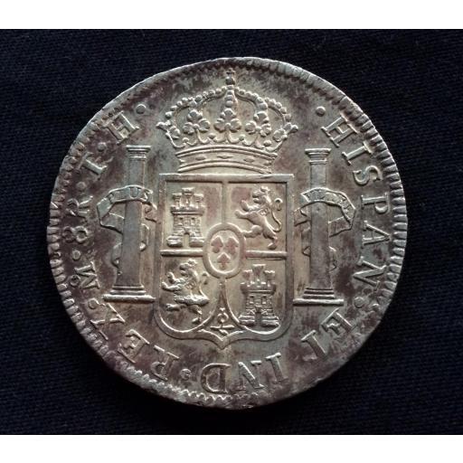 8 REALES PLATA 1805 - CARLOS IV - MEXICO [0]